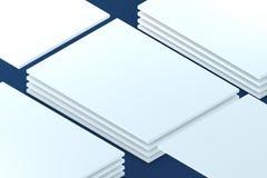 陈列室 对介绍app网络设计的模板 免版税库存图片