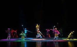 """陈列超自然的力量孩子的北京Opera""""Yue teenager† 免版税库存图片"""