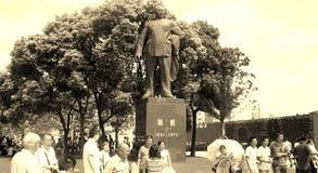 陈毅(上海的外长市长,中国的将军) 库存照片