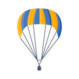 降伞传染媒介例证飞行 库存照片