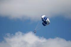 降伞,新西兰 库存照片