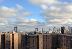 降低东边纽约 库存图片