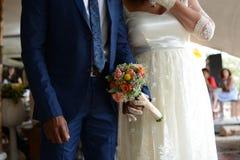 降低婚礼事件的部分 库存图片