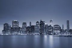 降低曼哈顿。 免版税库存照片