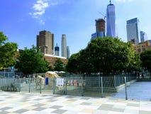 降低曼哈顿的西边 图库摄影