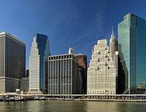 降低曼哈顿, NYC 库存图片