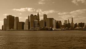 降低曼哈顿 图库摄影