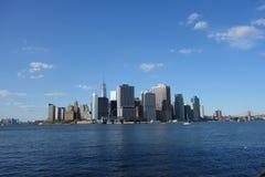 降低曼哈顿10 库存图片