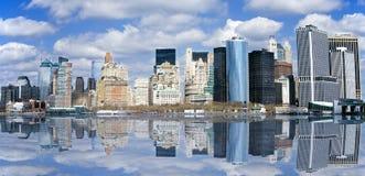 降低曼哈顿 免版税库存照片