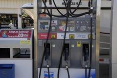 降低汽油价格 免版税库存图片