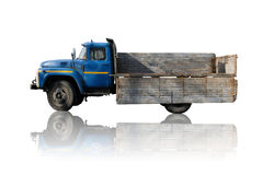降低的外缘卡车 库存图片