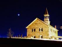 降低石教会 免版税库存图片