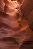 降低羚羊峡谷 免版税库存图片