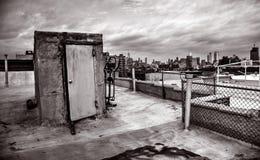 降低从布鲁克林的曼哈顿 免版税库存照片