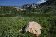 降低Bloomington湖 免版税库存图片