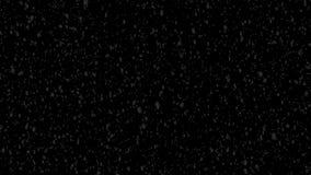 降雪传染媒介动画录影背景圈HD 库存例证