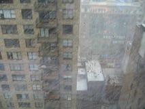 降雪的springime 库存照片