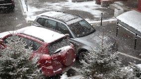 降雪,大雪花 股票录像
