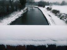 降雪 免版税库存照片