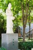 陕西,中国- 2015年6月06日:在曲江Co的王宝钏雕象 免版税库存照片
