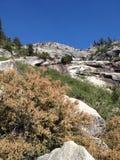 陡峭的山在国王峡谷国家公园 免版税库存图片