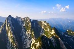 陡峭的山 库存照片