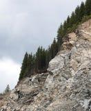 陡峭的山 库存图片