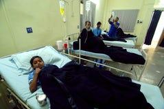 医院在西孟加拉邦 免版税库存照片
