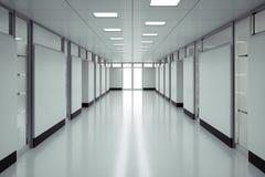 医院地板 免版税库存图片