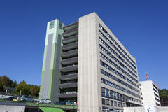 医院大厦在锡根,德国 库存图片