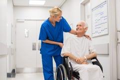 医院护理 库存照片