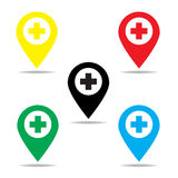 医院标志 免版税库存图片