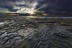 医院礁石的拉霍亚坑洼 免版税图库摄影