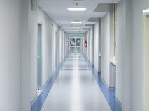 医院走廊 免版税图库摄影