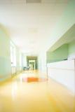医院走廊 图库摄影