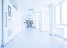 医院走廊 免版税库存图片