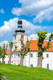 阴险的人学院在Kutna Hora 免版税库存图片