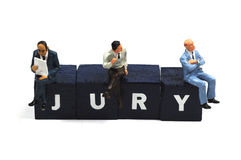 陪审员 图库摄影