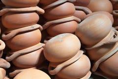 陶器的背景 免版税图库摄影