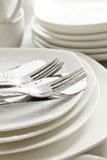 陶器,厨房 免版税库存照片
