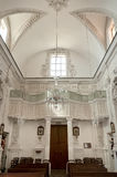 陶尔米纳, Varà ²教会的内部  免版税库存图片