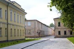 陶格夫匹尔斯(拉脱维亚)堡垒 免版税库存图片