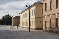 陶格夫匹尔斯(拉脱维亚)堡垒 图库摄影
