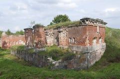 陶格夫匹尔斯(拉脱维亚)堡垒 库存照片