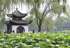陶然亭公园在北京 免版税库存照片