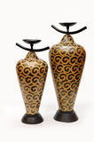 陶瓷中国人花瓶 免版税库存图片