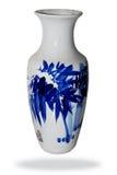 陶瓷中国细致的花瓶 免版税图库摄影