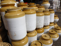 陶瓷印第安瓦器 图库摄影
