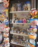 陶瓷和礼物项目 免版税库存照片