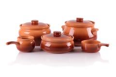 陶瓷器皿 库存照片
